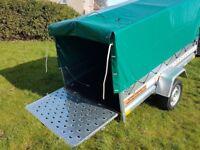 New Trailer 7.7 x 4.1 ramp cover free £990 inc vat