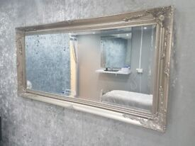 Mirrors and bedside cabinets