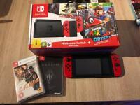 Nintendo Switch Mario Ed