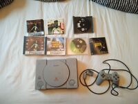 Playstation 1 PSONE controller and games for collection