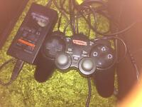 For sale one slim ps2 console and games