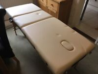 Cream Portable Massage Table