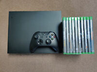 Xbox One X console, Controller & 10 Games