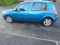 RENAULT CLIO 1.2...full service history...£595..