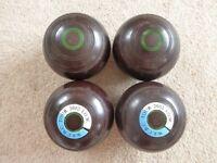 Set of 4 Thomas Taylor Lignoid bowls