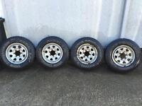 Nissan cabstar wheels and tyres.