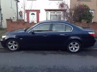 2006 56 BMW 525I AUTOMATIC SE SALOON 1 OWNER FROM BRAND NEW FULL BMW SERVICE HISTORY 1 YEARS MOT
