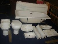 Bathroom Bundle (Bath, Toilets, Basin's etc) Ex Display