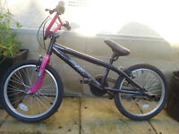 Girls BMX Style bicycle. Unused, as new.