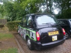 Taxi, plate and position for sale