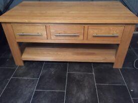 Oak FurnitureLand Coffee Table.