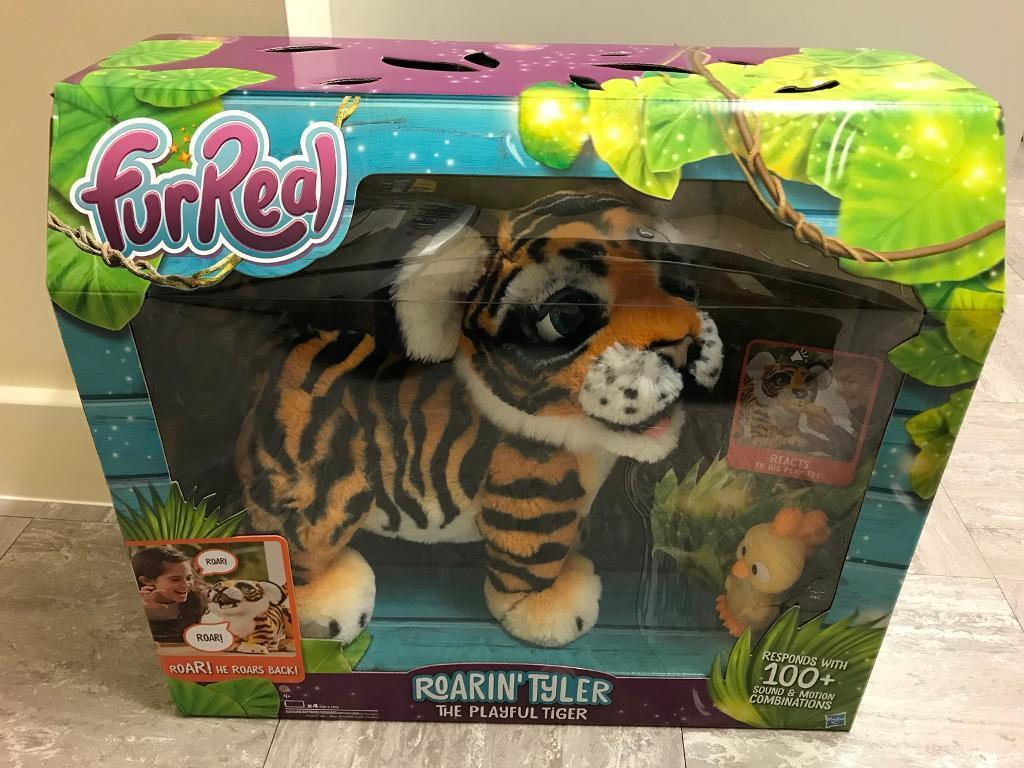 FURREAL FRIENDS ROARIN' TYLER THE PLAYFUL TIGER - BRAND NEW IN BOX