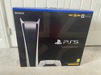 PlayStation 5 Digital Console BRAND NEW SEALED PS5