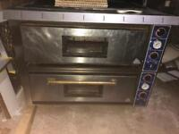 Commercial chef king pizza oven
