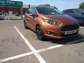 Ford Fiesta 1.6 Petrol Automatic 2013 Copper Pulse