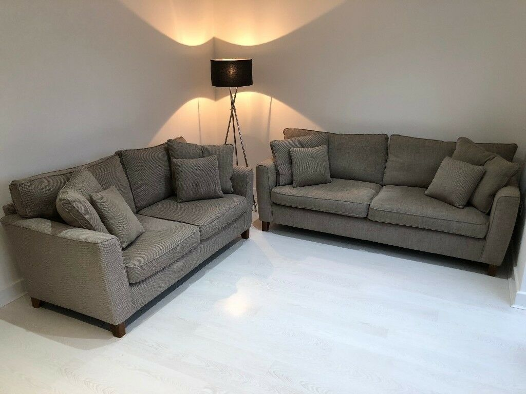 3 seat 2 seat sofa from scs fully scotch guarded nearly new