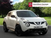 Nissan Juke 1.5 dCi N-Connecta 5dr (arctic white) 2016