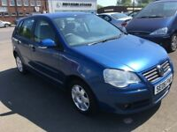 2006 Volkswagen POLO S 1.4 , MOT-May 2019 , only 50,000 miles , service history ,clio,corsa,fiesta