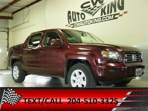 2008 Honda Ridgeline EX-L / Heated Leather / Loaded / All Wheel