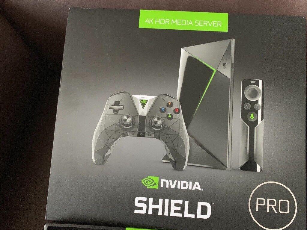Nvidia shield tv pro 500gb   in Kidsgrove, Staffordshire   Gumtree