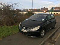 2003 peugeot 307 with 12 month mot