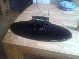 SAMSUNG TV STAND AS NEW NOT BEEN USED COST OVER £69