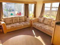 😀😀Stunning static caravan on a stunning sea view pitch at sandy bay holiday park😀😀 open 12 month