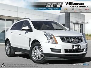 2014 Cadillac SRX AWD**NAV**SUNROOF**LTHR**BCK UP CAM