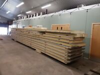 FREE Steel insulated Wall panels. Most 10-11m lengths, some smaller. 150mm thick