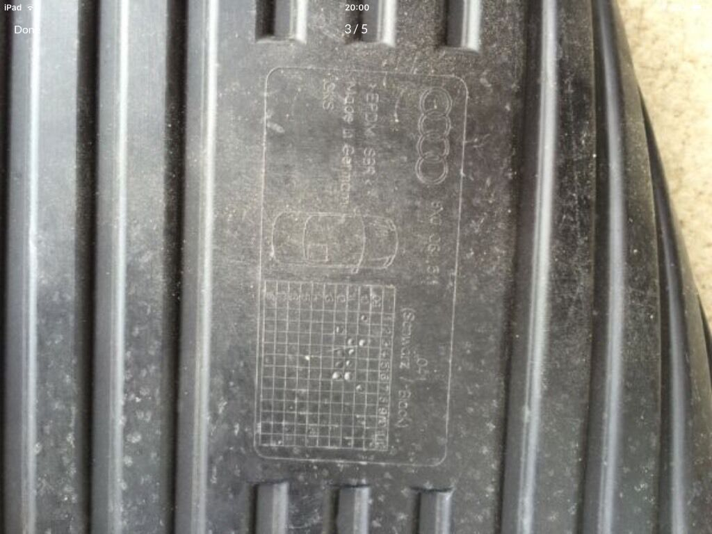 Rubber mats gumtree - Rubber Mats For Audi A1 Image 1 Of 5
