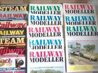 4SALE,15 COPIES,OF RAILWAY MAGAZINES