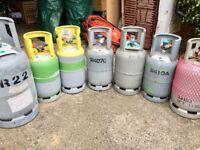 Refrigerants - R410a - R407c - R22