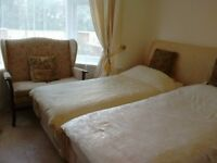 2 DOUBLE BEDROOMS, ONE IS A TWIN ROOM OR SUPER KING SIZED BEDROOM