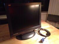 "VIEWSONIC VE155b 15"" LCD Display monitor"