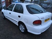 Great runner low mileage Hyundai Accent Auto.
