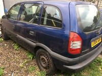 2004 Vauxhall zafira 2.0 diesel breaking for parts