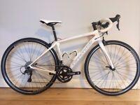 2016 Cannondale Women's Synapse Carbon Tiagra 48cm road bike £575