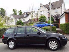 SPRING/SUMMER SALE! (2005) VW GOLF 1.9 TDi SE 130 Diesel AUTOMATIC Estate FREE DELIVERY/MOT/TAX/FUEL
