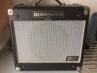 Guitar amplifier behringer in excellent condition
