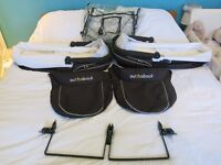 2 Out n About carry cots and accessories