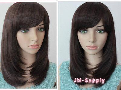 TOP Haarperücke 100% Kananote ca 40cm Lang stylen  mit Lockenstab möglich G1317