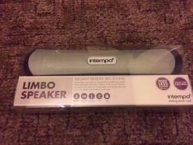 Intempo Limbo Bluetooth Speaker Brand New Sealed with receipt