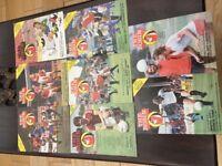 The Robin football programmes