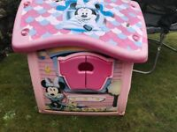 Kids Minnie Mouse garden playhouse