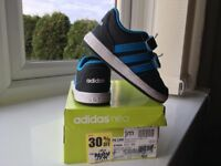 Infant Boys Adidas Neo Trainers Size 6