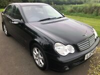 2006 Mercedes C-Class Facelift 220CDI CLASSIC SE Auto FSH 1 owner 1yrs Mot 6mth warranty