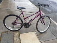 Raleigh Ladies Bike with 26 wheel