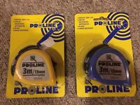 New tape measure - new in packaging