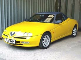 X Reg Alfa Romeo Spyder Lusso T-Spark, Great Spec. A pleasure to own, and Going Up in Value!