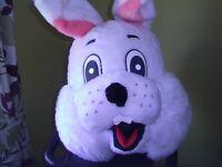 Adult Easter Bunny Rabbit Costume Giant Head